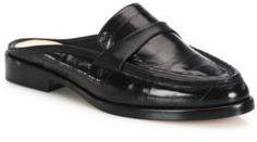 Alexandre Birman Eel Loafer Slides