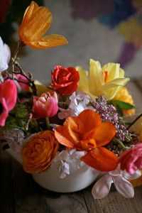 amy merrick greenpoint florist stylist west elm paper flowers tips