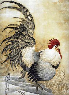 Мастер-класс по картинам из шерсти - Новогодний символ Петух - Ярмарка Мастеров - ручная работа, handmade