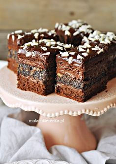 Sweet Recipes, Cake Recipes, Polish Recipes, Cupcake Cookies, Macaroons, Christmas Baking, Love Food, Food And Drink, Cooking Recipes