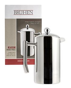 Large Stainless Steel French Press Coffee Maker  Double Wall Tea Or Coffee Press  36 Oz 1 Liter  With BONUS EXTRA Filter -- Visit the image link more details. Note:It is affiliate link to Amazon.