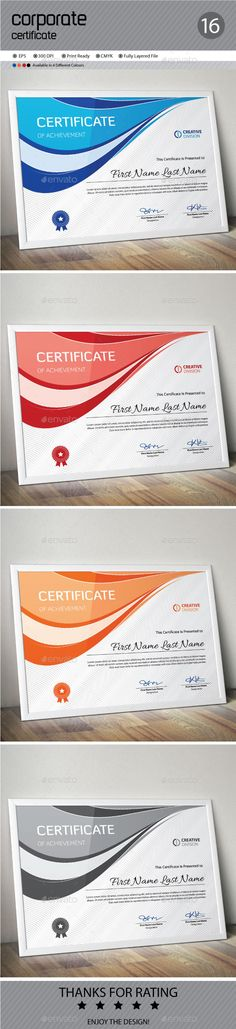 Certificate Certificate, Certificate design and Template - certificate designs templates