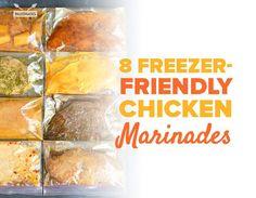 8 Freeze-Friendly Chicken Marinades