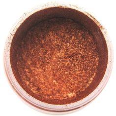 Copper Orange Metallic Dust 4 grams (Rust / Rustic) - Edible Sugar Dusts from Bakell