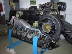 Messerschmitt Bf 109 F to K engine base. The Daimler Benz 605 A/ASM