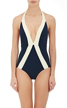 Flagpole Swim Jade One-Piece Swimsuit - One Piece - 505141267