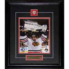 Midway Corey Crawford Chicago Blackhawks 2013 Stanley Cup 8x10-inch Frame