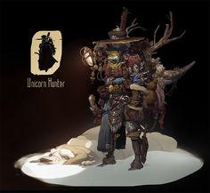 ArtStation - Unicorn Hunter_freelance, Dmitry Klyushkin