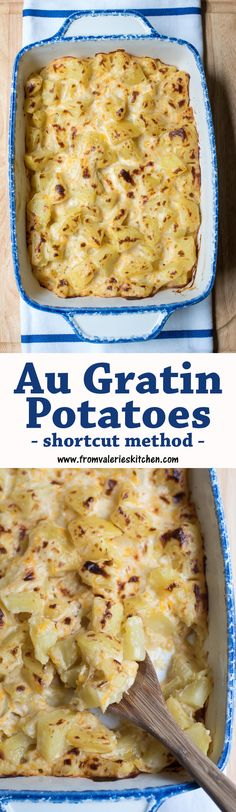 Super creamy, delicious Au Gratin Potatoes made faster with this ...