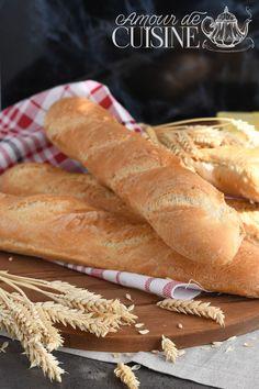 Hot Dog Buns, Hot Dogs, Pain Baguette, Google, Image, French Baguette, Baguette Recipe, No Knead Bread