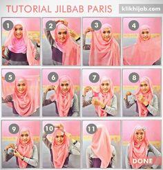 Tutorial Hijab Modern 24