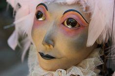 Vedette marioneta zapato titere puppet
