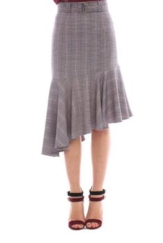 Fusta asimetrica BRN-21801172 -  Ama Fashion