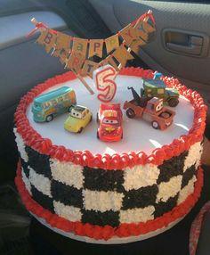Birthday cake - Disney cars cake