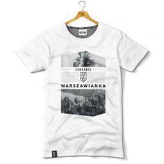 Koszulka patriotyczna Kompania NSZ Warszawianka. Powstanie Warszawskie - odzież patriotyczna, koszulki męskie Red is Bad