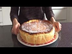 TARTE AU FROMAGE BLANC SIMPLE LEGERE ET DELICIEUSE - YouTube Alain Ducasse, Nougat Torte, Apples And Cheese, Cheesecakes, Nutella, Tiramisu, Biscuits, Raspberry, Dessert Recipes