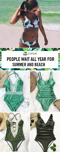 SUMMER is coming and I miss the sea! Waiting all year for SUMMER and BEACH, we are ready for your glamorous beach look, are you? Make the best use of the summer time with those amazing swimsuits. Free shipping! Shop Now.