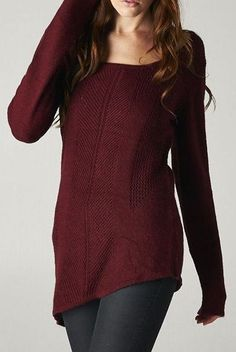Sweater in Burgundy <3
