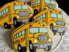 Custom Decorated School Bus Drivers!