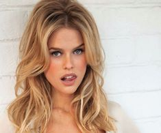 Alice Eve - sexy volumized bed head