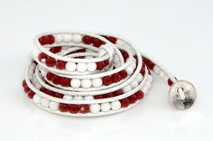 Alabama Crimson Tide Wrap Bracelet by TeamWraps on Etsy