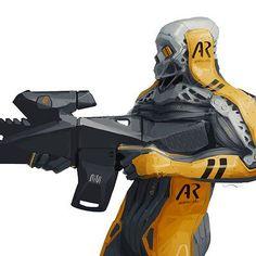 ArtStation - Ivan Tantsiura Sci Fi Armor, Sci Fi Weapons, Starship Concept, Cyberpunk Character, Suit Of Armor, Robot Art, Weird Art, Character Design Inspiration, Character Art