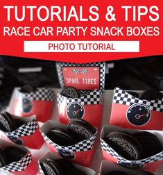 Race Car Party Printables Invitations & Decorations red 2019 Spare Tires Race Car Birthday Party Food Ideas The post Race Car Party Printables Invitations & Decorations red 2019 appeared first on Baby Shower Diy. Disney Cars Party, Disney Cars Birthday, Race Car Birthday, Race Car Party, Race Cars, 5th Birthday, Nascar Party, Mickey Party, Birthday Party Snacks
