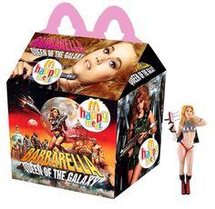 """Barbarella: Queen Of The Galaxy"" Happy Meal"