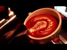 Latte art(Wing Rosetta)by Junichi Yamaguchi - YouTube