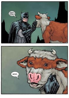7 Lesser-Known Members of the Batman Family - Batman Funny - Funny Batman Meme - - Meet Bat Cow and 7 Lesser-Known Members of the Batman Family Batman Meme, Batman Y Superman, Batman Arkham, Batman Art, Batman Robin, Marvel Girls, Marvel Dc Comics, Gotham Comics, Deathstroke