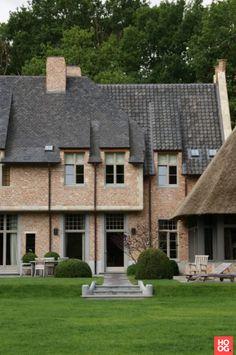 Themenos - Vlaams landhuis - Hoog ■ Exclusieve woon- en tuin inspiratie.