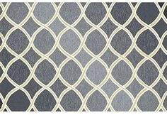 Loloi Rugs VENIVB-18CCLL2339 Venice Beach Collection Indoor/Outdoor Area Rug, 2-Feet 3-Inch by 3-Feet 9-Inch, Charcoal/Lime