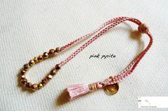 Mathilde Danglade  Semi-precious stone bracelet  Pink Pyrite