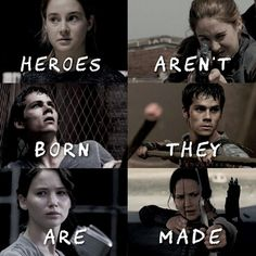 Divergent, The Maze Runner and The Hunger Games