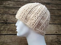 Crochet Pattern for Unisex Double Helix Beanie Hat - 5 sizes, baby to large adult - Welcome to sell finished items. $4.95, via Etsy.