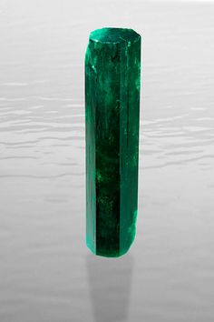 // Itoco Emerald / This 472-carat rough Colombian emerald from the La Pita mine is the largest and finest single crystal that has been mined in decades.