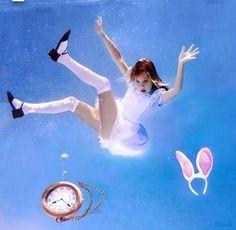 Underwater Tea Parties