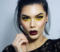 """1,539 Me gusta, 16 comentarios - Linda Hallberg (@lindahallberg) en Instagram: """"I think I could say that Yellow is one of my favourite colors to wear on eyes! Product list is on…"""""""