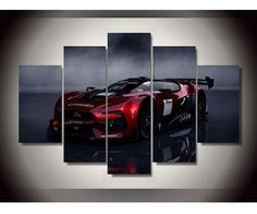 Racing Car Style Excellent Picture Framed Canvas Wall Art Hanging Room Inn#AL053 #Modernism #Racing #Supercar #Picture #Canvas