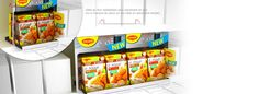 Display promotionnel Maggi : Pop Solutions Stop Rayon, Pop, Cereal, Promotion, Display, Mango, Floor Space, Popular, Pop Music