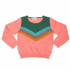Simple kids - trui apricot roze #girls #fashion
