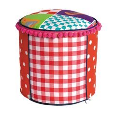 coming kids sitzpuff princess patchwork