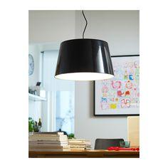 KULLA Pendant lamp IKEA Plastic inner casing prevents glare. £65