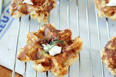 Simple Mashed Potato Waffles [Vegan]