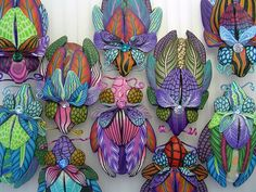 amazing fimo bugs by Wanda Shum http://wandadesigns.blogspot.co.uk/ Wanda Shum Design