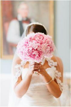 Pink Bouquet :  : see more pink weddings