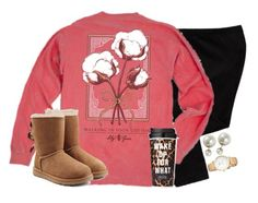 """""""wake up for what?"""" by emmig02 ❤ liked on Polyvore featuring Old Navy, UGG Australia, Kate Spade and Victoria's Secret"""