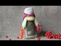 Куколка Рябинка. Мастер-класс - YouTube