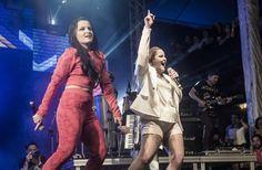 Maiara e Maraísa discutem com público durante show