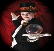 Christmas entertainer for hire. Hire our Christmas themed contact juggler and entertainer for your christmas events in London and across the UK.